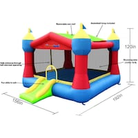 Inflatable Party Castle Bounce House Omaha