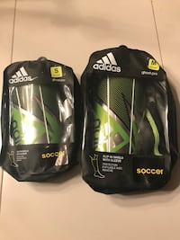 New Adidas ghost pro soccer shin pads Small and Medium