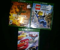 XBOX ONE GAMES x 3 Langley, V3A 3Z2