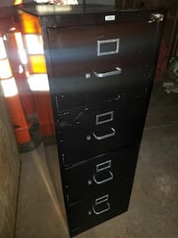 black 4-drawer filing cabinet Hyattsville, 20781