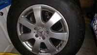 R17 Mercedes Rims and Tires 235/65R17 Maple Ridge, V4R 2W1