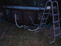 Brown  metal frame swimming pool Natchitoches, 71457