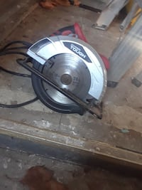 black and gray Hyper Touch circular saw Kansas City, 66101