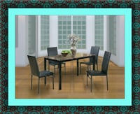 Table with 4 chairs free delivery Crofton