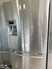 stainless steel french door refrigerator Dallas, 75236