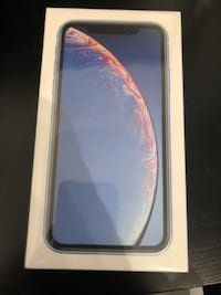 iPhone xr blue.  $550 OBO.  Ships from quebec Vancouver