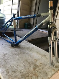 New norco mountaineer mountain bike frame and forks Surrey, V3Z 9X7