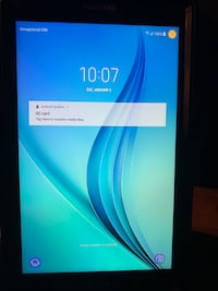 Samsung Galaxy Tab E with cell LTE