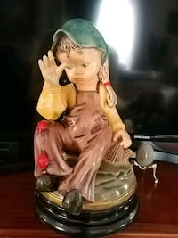 Beautiful Vintage Figurine, 15.5 inches