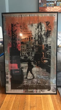 One of a kind painting New York, 10023