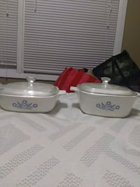 1 quart and 1 and 1/2 quart baking dishes w lids Des Moines, 50315