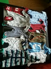 toddler's assorted clothes 726 km