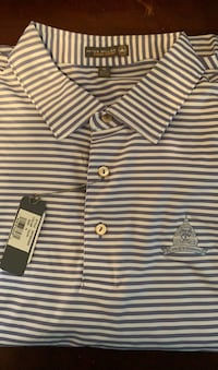 Brand new Congressional Peter Millar xl polo golf Alexandria