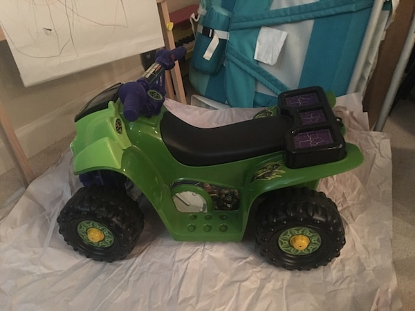 Power Wheels TMNT Quad