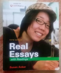 Real Essays book