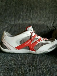 white and red running shoe Oceanside, 92056