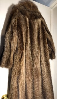 Real Full Length Fur Coat