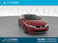 2014 Honda Accord coupe EX-L Coupe 2D Red Jamaica