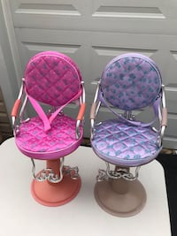 Two salon chairs for dolls Arlington, 22207