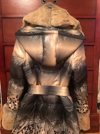 Winter Jacket with real fur