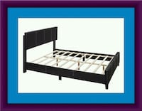 Queen bed platform bed with mattress and delivery Temple Hills