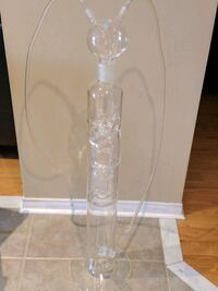 Multi Hose Crystal Glass Hookah