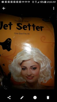 Brand new Halloween blonde wig