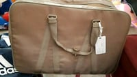 women's brown leather tote bag Laval, H7N 6G7