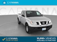 2017 Nissan Frontier King Cab pickup S Pickup 2D 6 ft Silver