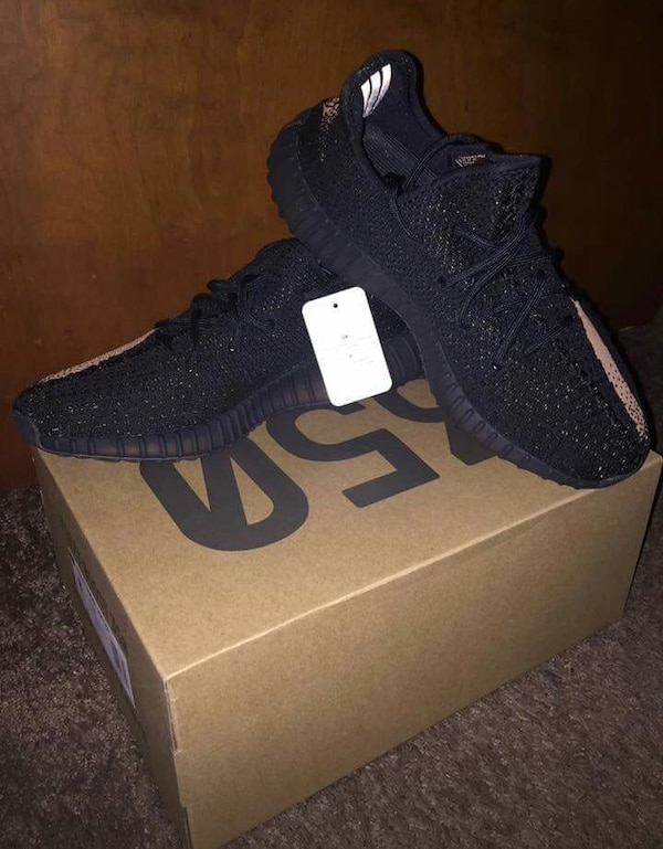 d8da9fcc3b293 Used pirate black adidas yeezy boost 350 with box for sale in New York -  letgo