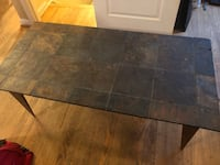 Slate Coffee Table with Matching End Tables (2) 67 km