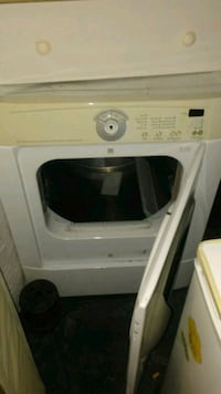 white front-load clothes dryer Irving, 75061