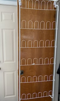 Shoes storage for doors