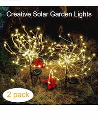 Outdoor Solar Garden Decorative Lights-Mopha Solar 105LED Powered 35Copper Wires Stake Landscape Light 圣地亚哥, 92126