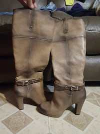GIANNI BINI size , 9m Brown leather Boots