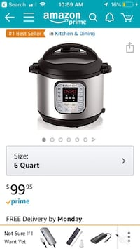 *** Buy INSTANTPOT today and use for tonight's GAME OF THRONES PREMIER*** San Diego, 92108