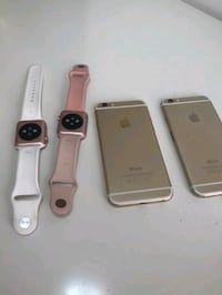 three gold iPhone 6's Crownsville, 21032