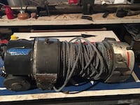 black and gray Ramsey RE8000 winch Semmes, 36575