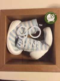 Go Shins Baby Rubber Shoes- unopened