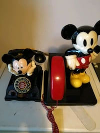 Collectable Mickey Mouse phones. London, N5V 2S7