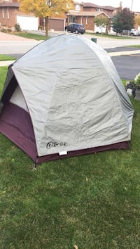 gray and maroon dome tent Vaughan, L4L 6P5
