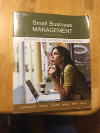 Small Business Management Textbook Waterloo