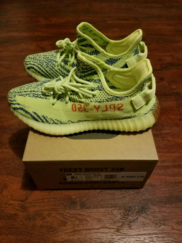 4b156640c9d34 Used Yeezy boost 350 v2 frozen yellow sz 8.5 for sale in New York ...