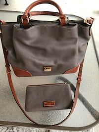 Dooney and Bourke Pebbled Leather Brenna Satchel with matching clutch wallet Carrollton, 75056
