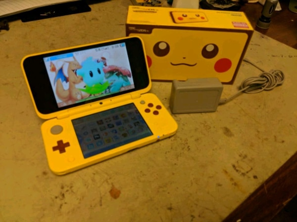 Nintendo 'New' 2DS XL modded Homebrew with games l