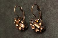 pair of gold-colored earrings Dorval, H9S 3G1