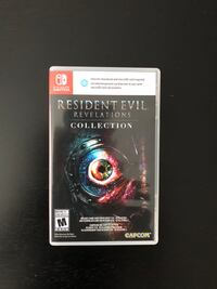 Nintendo Switch Resident Evil Revelations collection case