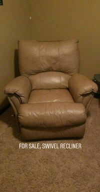 brown leather recliner sofa chair screenshot Tulare, 93274