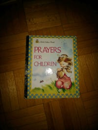 Prayers For Children. Hardcover. Toronto, M6L 1A4