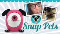 BRAND NEW Snap Pets Dog - Pink
